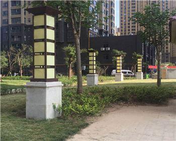 青海景观灯案例-西安茅坡新城景观灯